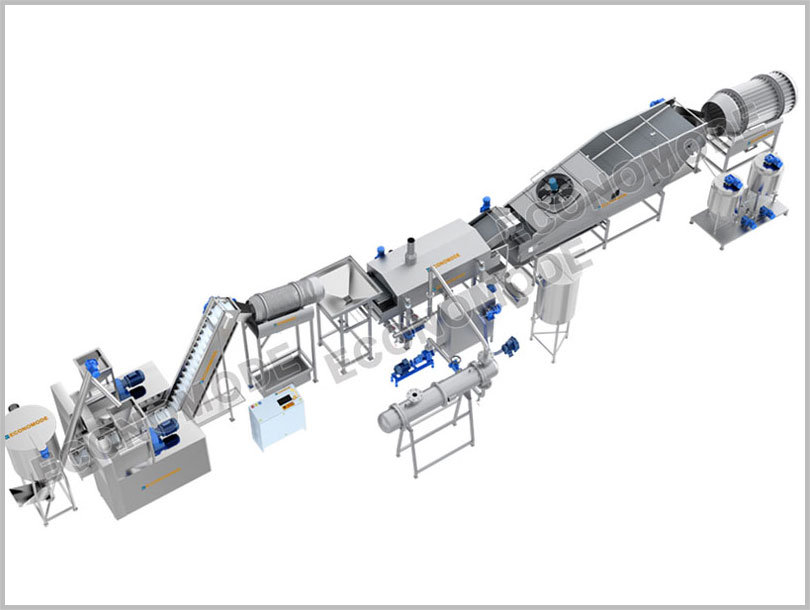 Fully Automatic Kurkure Production Line
